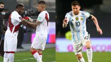 Lionel Messi  'amenaza' a la selección peruana