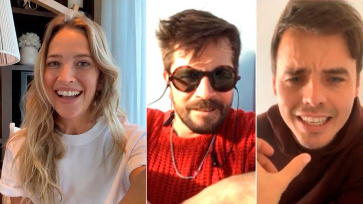 """Erreway: Luisana Lopilato, Felipe Colombo y Benjamín Rojas se reencuentran para recordar """"Rebelde Way"""""""